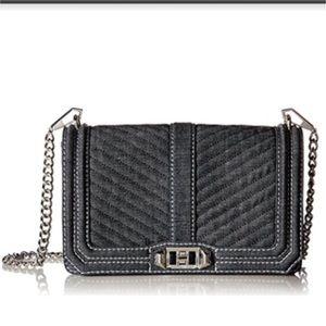Rebecca Minkoff Chevron Love Crossbody Bag